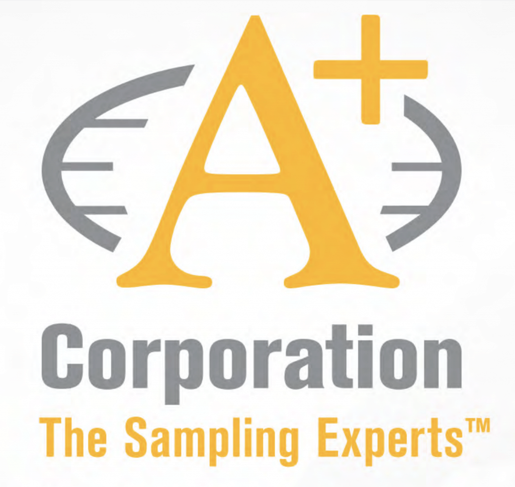 A+ Corporation Logo The Samping Experts